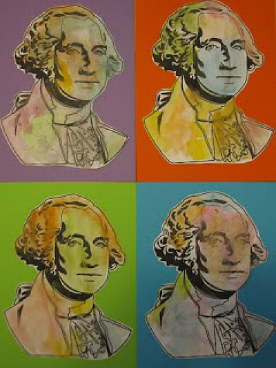 President's Day Andy Warhol Style