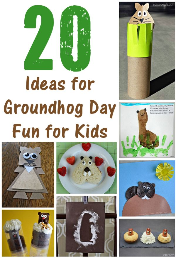 20 Ideas for Groundhog Day Fun for Kids