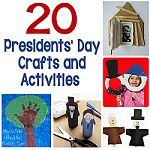 20 Presidents' Day Crafts and Activities 150
