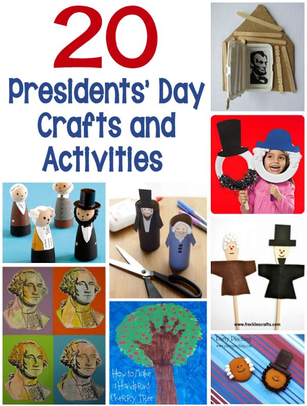 20 Presidents' Day Crafts and Activities