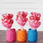 Embossed Valentine's Day Jars 150