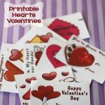 Hearts Printable Valentines 150