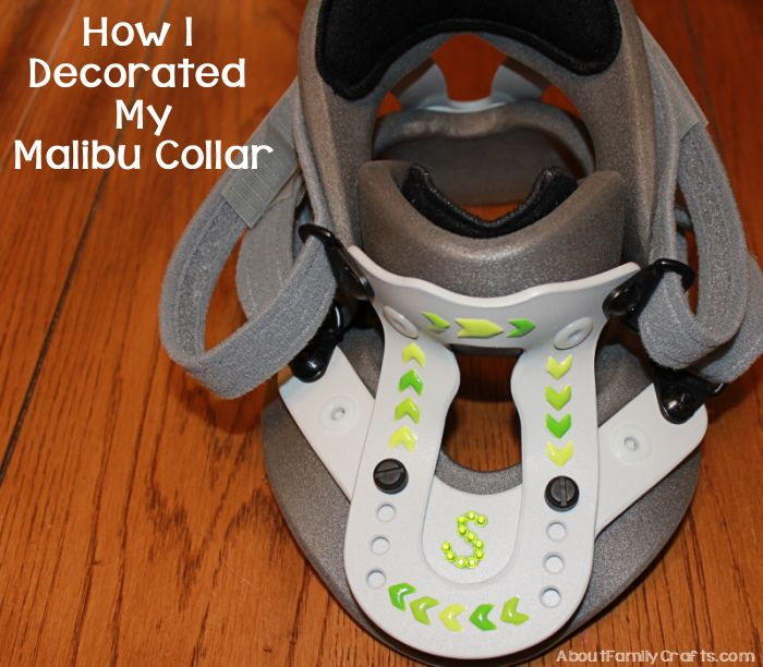 How I Decorated My Malibu Collar