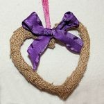 How to Make a Burlap Heart 150