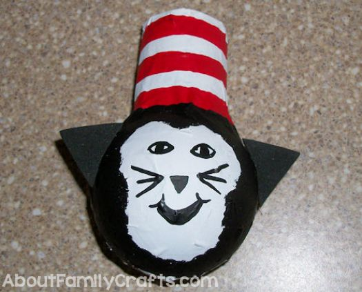 glue on cat in the hat ears