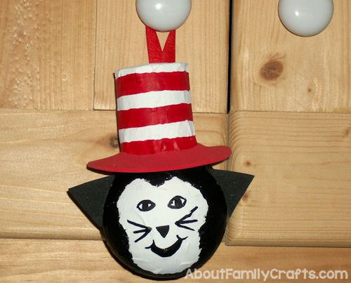 finish the light bulb cat in the hat