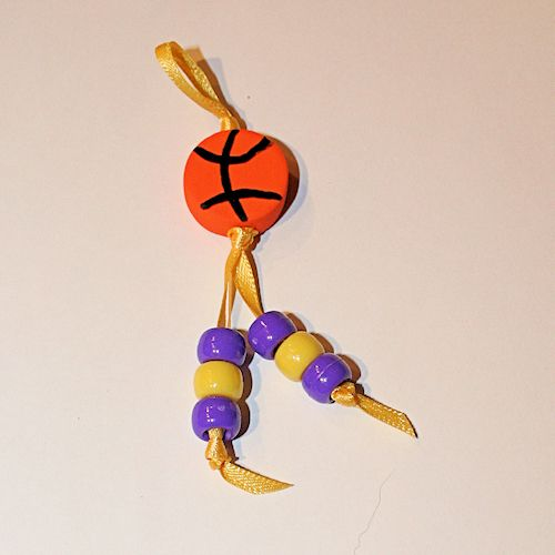 Basketball Pin or Magnet