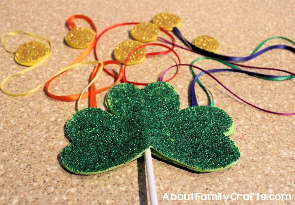 How to glue on second shamrock