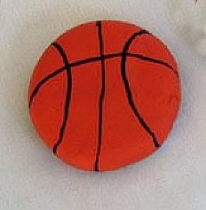 Salt Dough Basketball