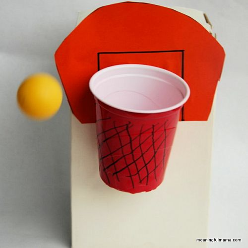 DIY Basketball Game for Kids