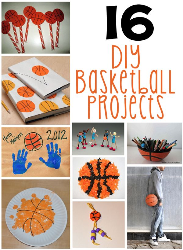 16 DIY Basketball Projects