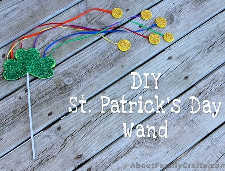 Saint Patrick's Day Wand Craft