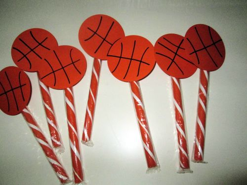 Basketball Topped Treats