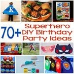 70+ DIY Superhero Party Ideas 150