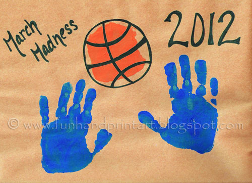 Handprint Basketballs