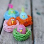 DIY Easter Chick in a Nest 150