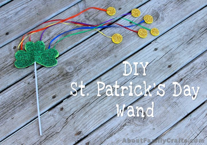 How to Make a DIY St. Patrick's Day Wand