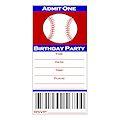 Printable Baseball Ticket