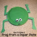 Paper Plate Frog Craft Tutorial
