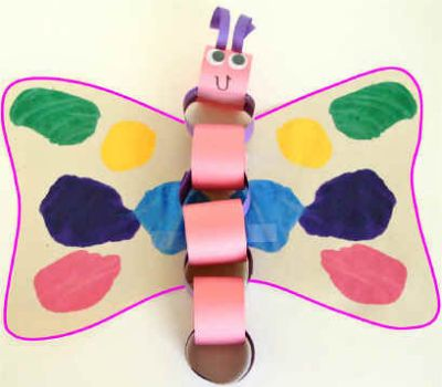 Paper Chain Butterfly