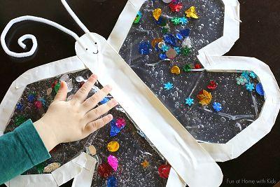 Mess-Free Sensory Play Butterfly
