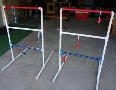 PVC Pipe Ladder Golf Game