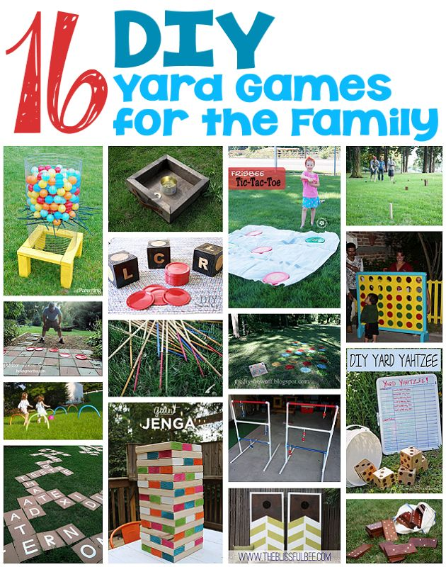 16 DIY Yard Games for the Family