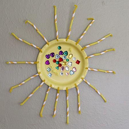 Fine Motor Sun Craft for Kids