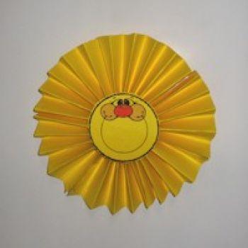 Paper Fan Sun Craft