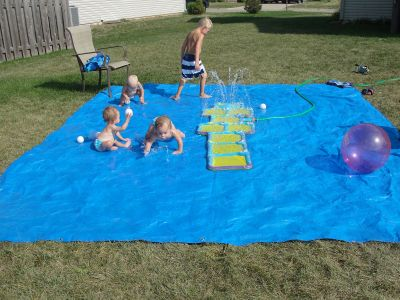 Make Your Own Splash Pad