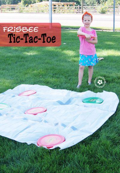 Frisbee Toss Tic-Tac-Toe