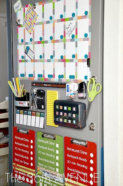 How to Make a Back to School Station