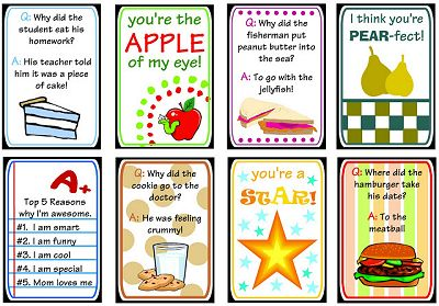 lunch box printables from darling doodles designs