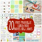 20 Free Printable Lunch Box Notes and Jokes 150