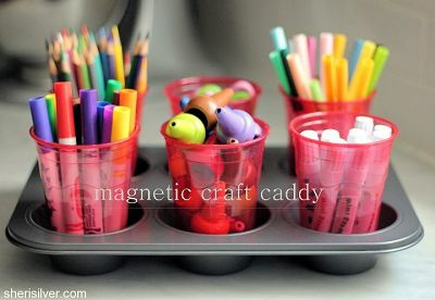 How to Make a Magnetic Craft Caddy
