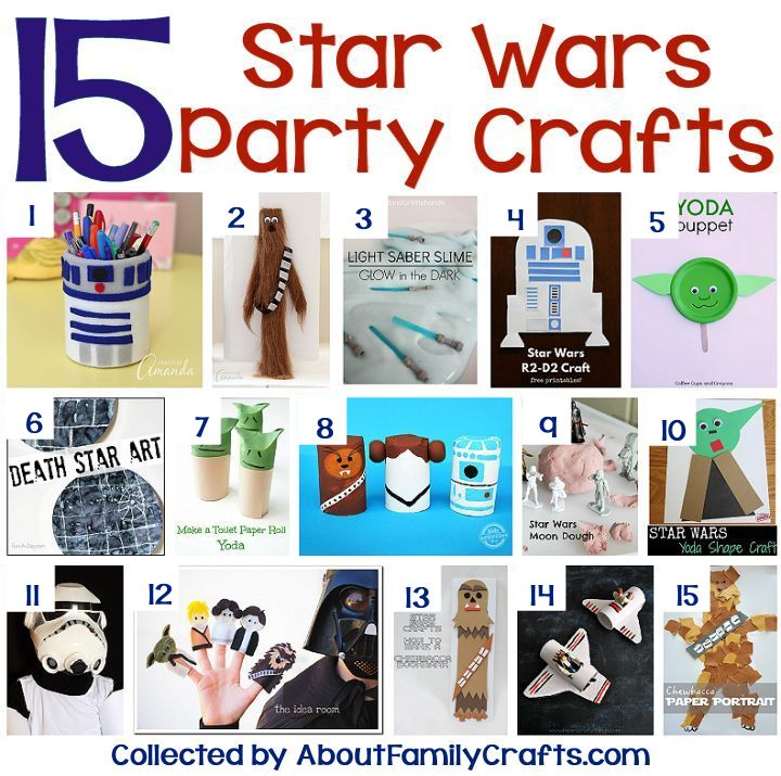 75+ DIY Star Wars Party IdeasAbout Family Crafts
