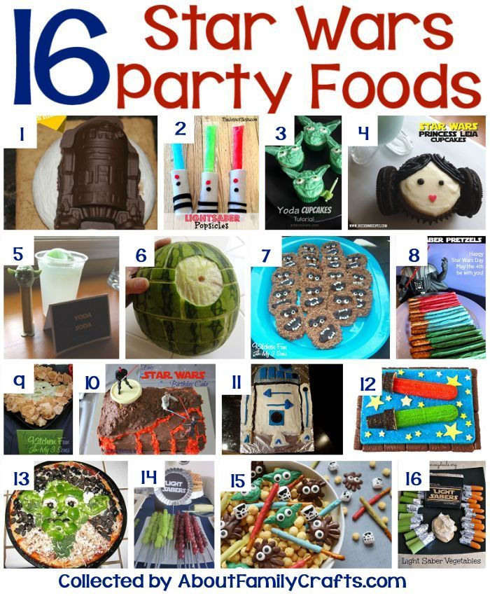 16 Star Wars Themed Party Foods