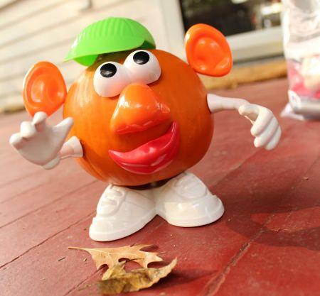 Mr. Potato Head Pumpkin