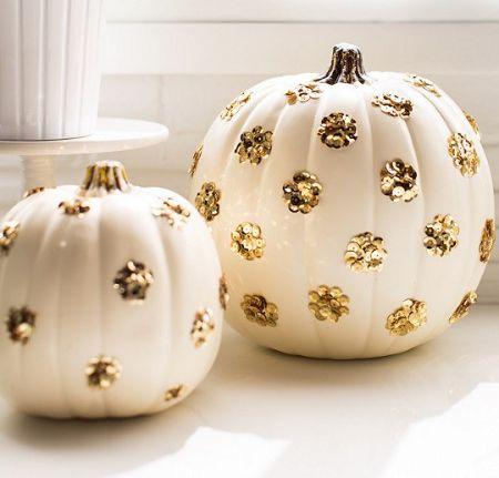 Sequins Polka Dot Pumpkins