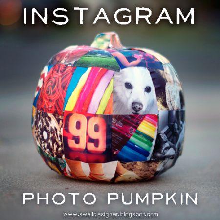 Instagram Photo Pumpkin