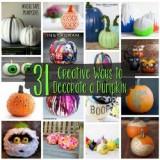 Creative Ways to Decorate a Pumpkin 250