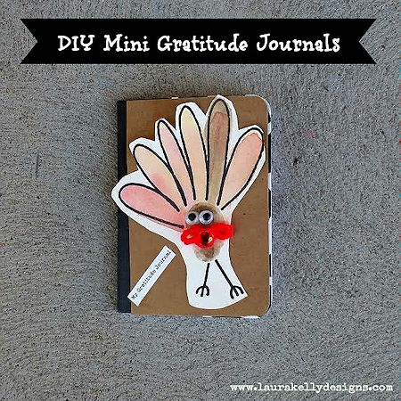 Mini Gratitude Journals for Kids