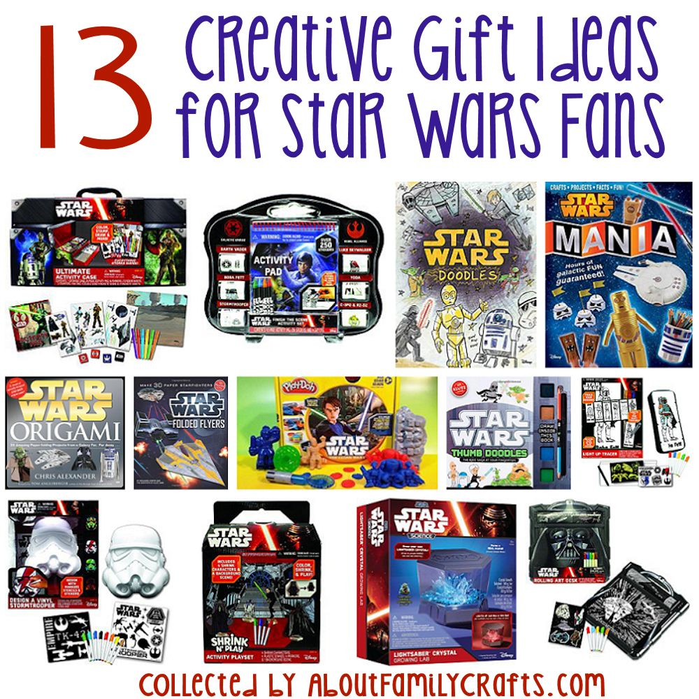 13 creative gift ideas for star wars fans about family crafts creative gift ideas for star wars fans negle Images