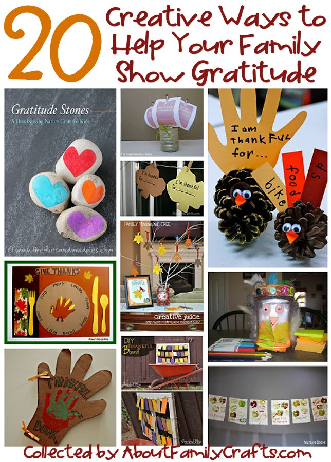 20 Creative Ways to Help Your Family Show Gratitude