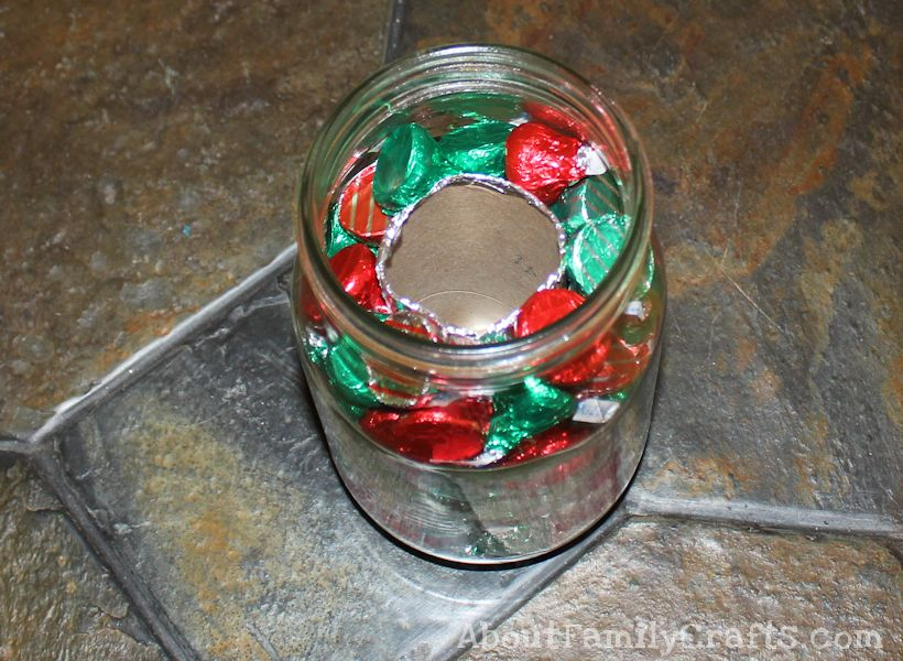 candy mony holder fill center completely