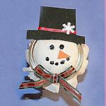 How to make a snowman candy jar150
