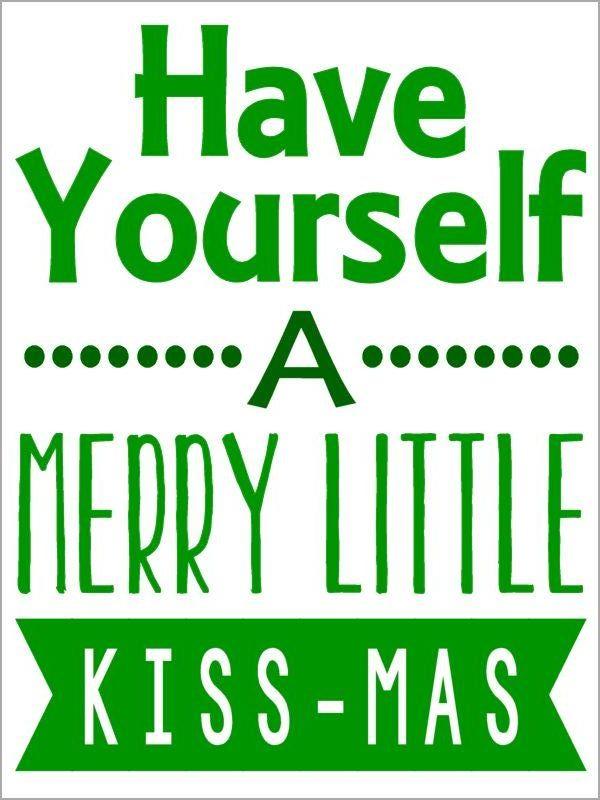 Merry Kiss-Mas Tag
