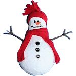 Paper Mache Snowman 150