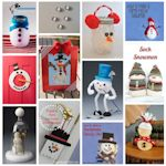 12 snowman craft ideas 150