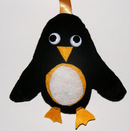 Felt Penguin Softie